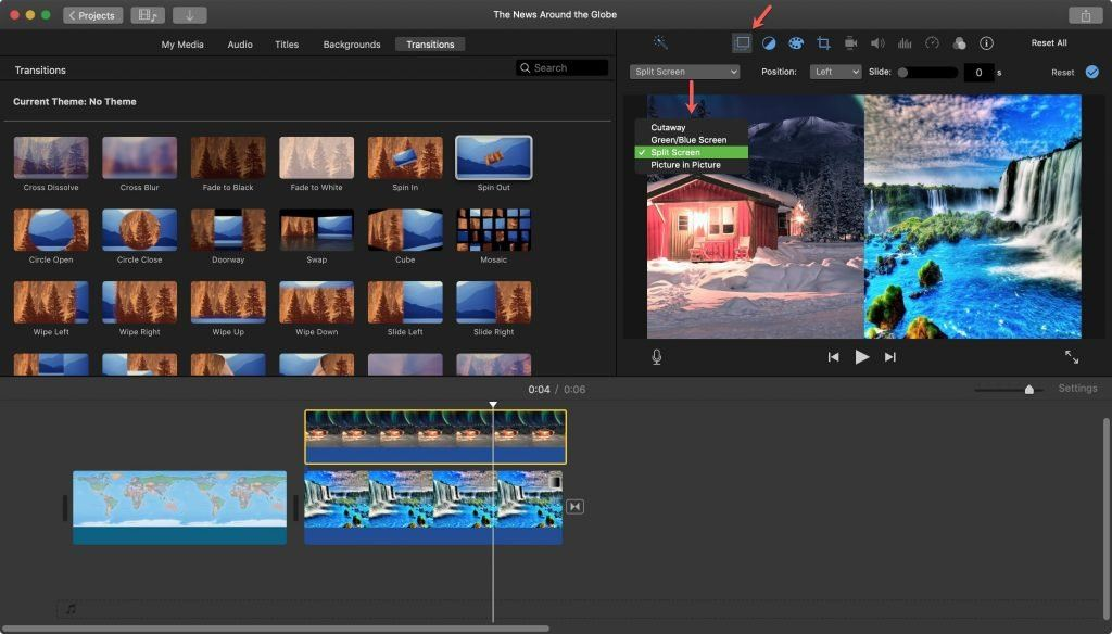 iMovie is a great beginner's tool