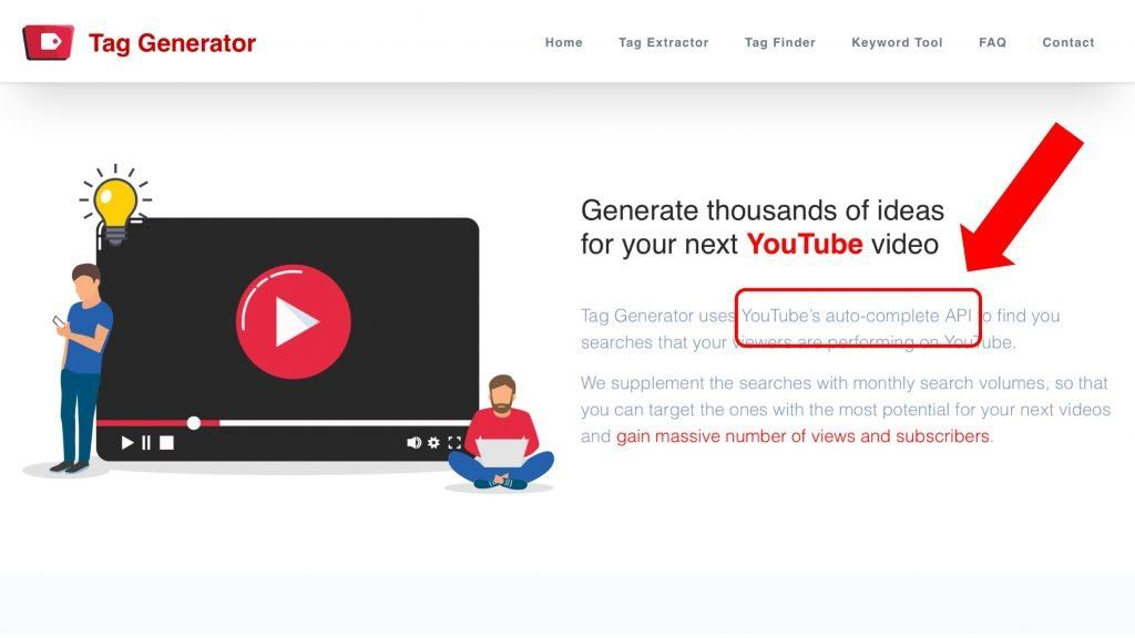 How do YouTube tag generators work?