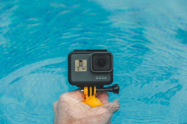 the gopro is one of the best outdoor vlogging cameras